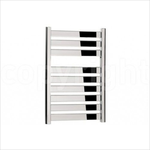 Crosswater Heating - Edge T Straight Panel Towel Warmer 500 x 720mm
