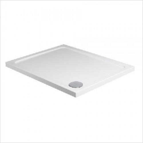 Roman Shower Enclosures - Acrylic Stone Square Tray 800mm
