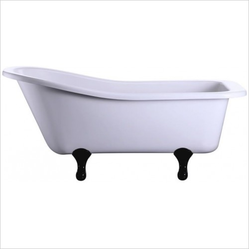 Burlington Baths - Harewood Slipper Bath No Tapholes 1700 x 730mm