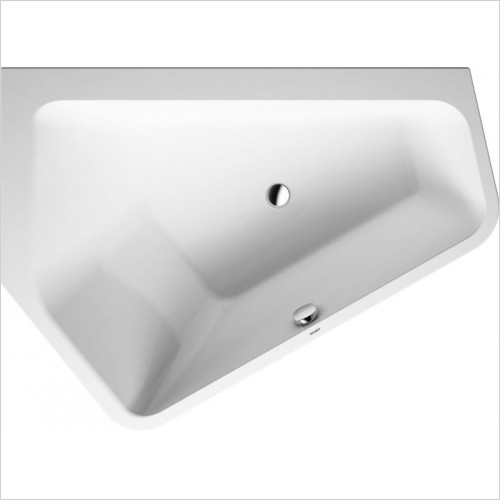 Duravit Baths - Paiova Bathtub 1770x1300mm With Integrated Panel