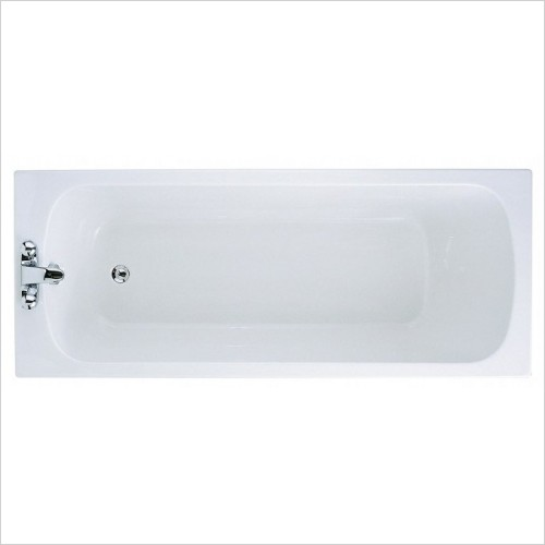 Adamsez Baths - Slim Single Ended Bath 1800x725mm