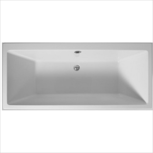 Adamsez Baths - Quadra Double Ended Bath 1800x800mm