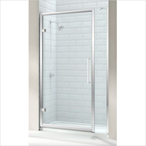 Merlyn Shower Enclosures - 8 Series Hinge Door & Inline Panel 980-1040mm