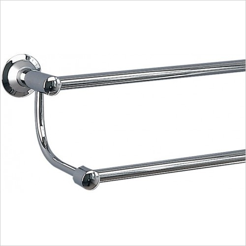 Miller Accessories - Metro Double Towel Rail