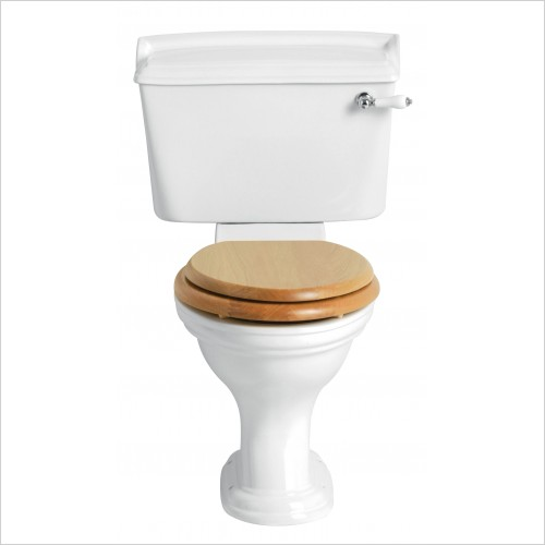 Heritage Toilets - Dorchester Comfort Height Close Coupled Toilet Pan