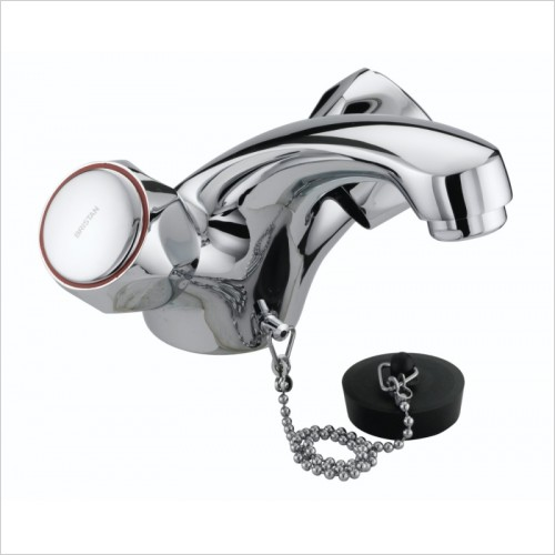 Bristan Taps - Club Mono Basin Mixer Without Waste & Metal Heads