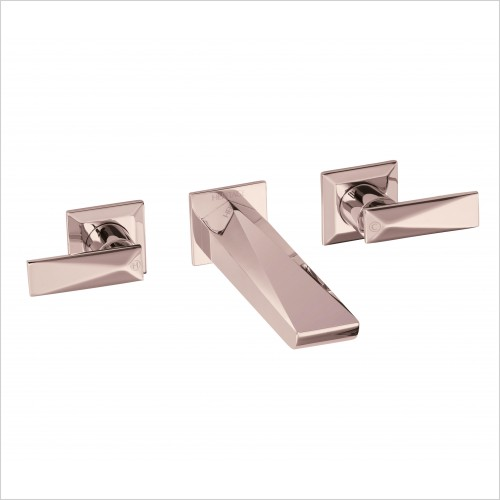 Heritage Taps - Hemsby Wall Mounted Basin Mixer