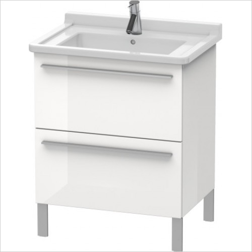 Duravit Furniture - X-Large Vanity Unit 668x650x470mm 2 Drawers