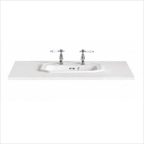 Heritage Basins - Granley Tapledge Inset Basin 2TH
