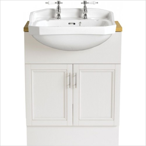 Heritage Basins - Granley Medium Semi-Recessed Basin 3TH