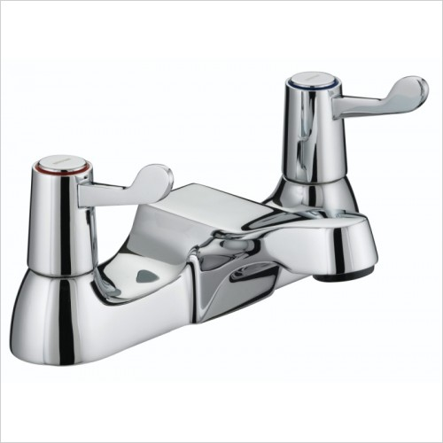 Bristan Taps - Lever Bath Filler With Ceramic Disc Valves