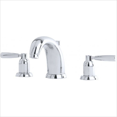 Perrin & Rowe Taps - Contemporary 3 Hole Basin Set - Lever