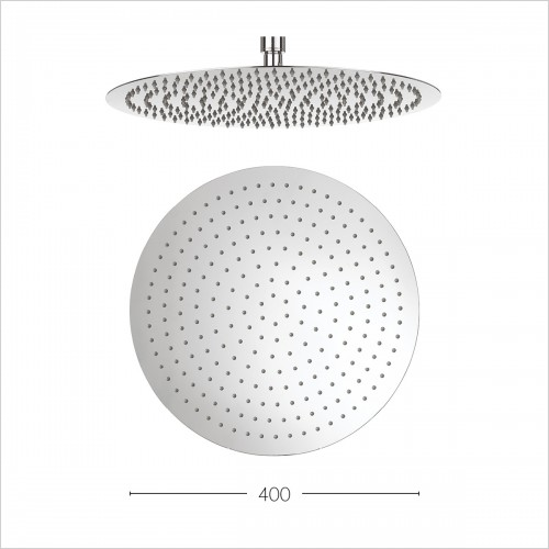 Crosswater Showers - Central 400mm Diameter Showerhead