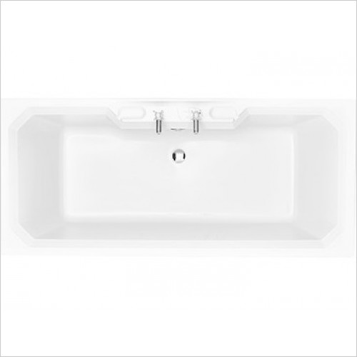 Heritage Bathtubs - Granley Double Ended 1800 x 800 Acrylic Fitted Bath
