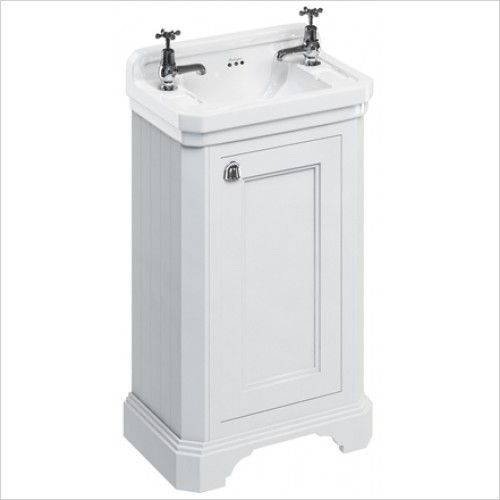 Burlington Furniture - Cloakroom Freestanding Basin Unit With Reversible Door