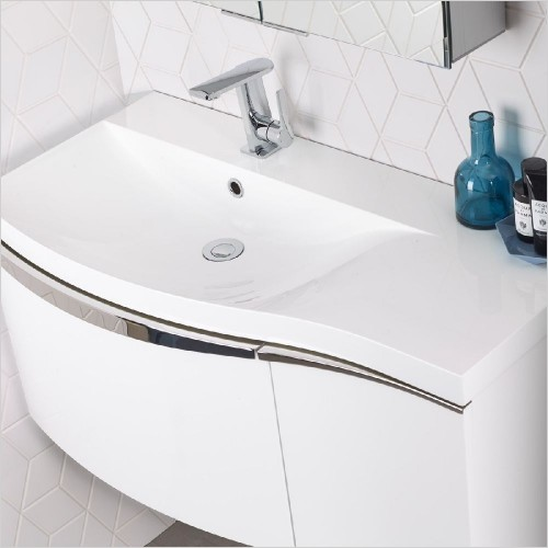 Roper Rhodes Basins - Serif 900mm Basin LH