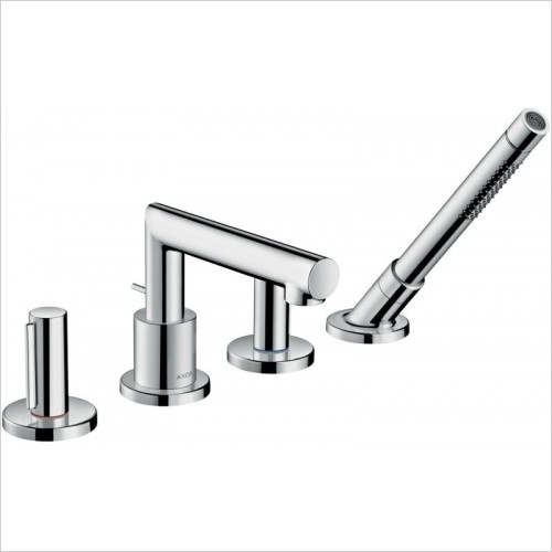 Axor Showers - Uno 4-Hole Rim-Mounted Bath Mixer Zero Handle