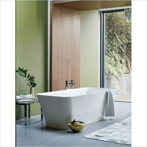 Clearwater Baths - Palermo Petite ClearStone 1530 x 800mm, No Overflow