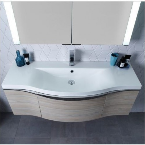 Roper Rhodes Basins - Serif 1200mm Gelcoat Basin