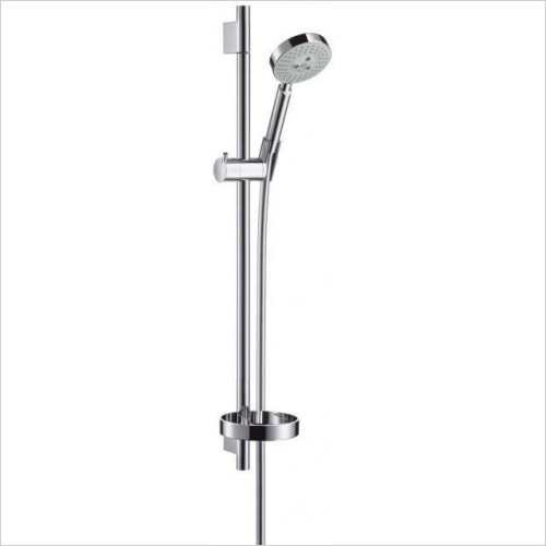 Hansgrohe Showers - Raindance S 100 AIR 3 Jet/Unica'S Puro Set 0.65m