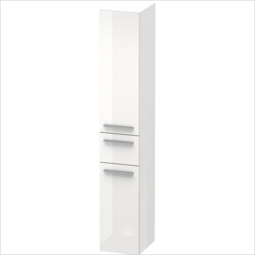 Duravit Furniture - X-Large Tall Cabinet 1760x300x358mm RH Hinge