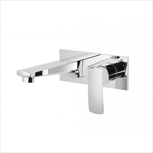Roper Rhodes Taps - Sync Wall Mounted Basin Mixer Without Pop-Up Waste