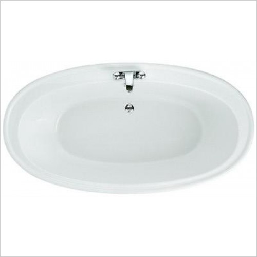 Andante White Freestanding Bath 1850x950mm