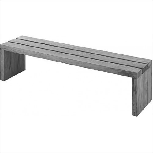 Duravit Optional Extras - Blue Moon Bench/Support Rail 1400x1400mm
