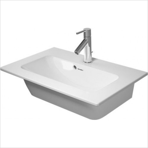 Duravit - Basins - Furniture Basin 630mm ME by Starck Compact - One Tap Hole