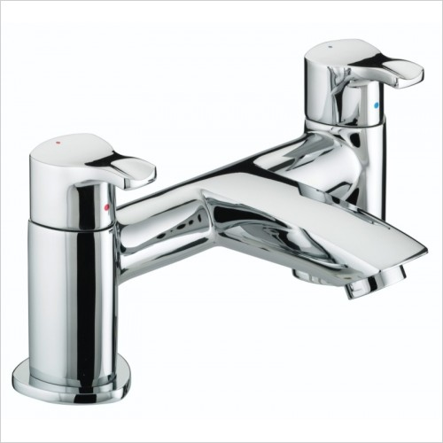 Bristan Taps - Capri Pillar Bath Filler