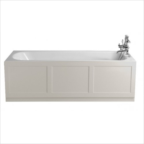 Heritage Bathtubs - Sutherland 1700x750 Cast Iron Fitted Bath 0TH