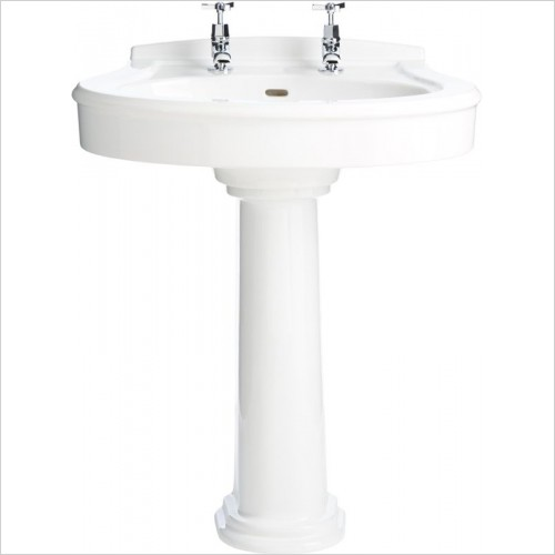 Heritage Basins - Claverton Standard Basin 1 Tap Hole