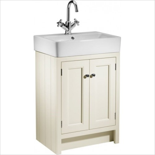 Roper Rhodes Furniture - Hampton 540mm Countertop Bathroom Unit in Vanilla