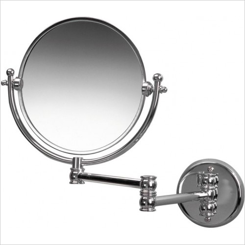 Miller Accessories - Classic Double Arm Mirror 8''