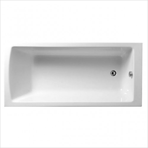 Vitra Baths - Neon Offset Shower Bath 170 x 85 x 75cm LH