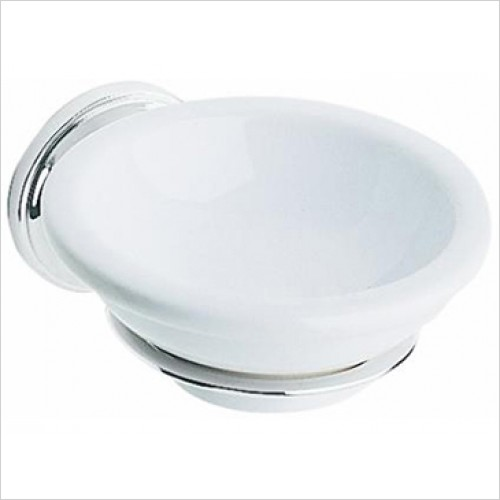Heritage Accessories - Clifton Bathroom Soap Dish in Chrome