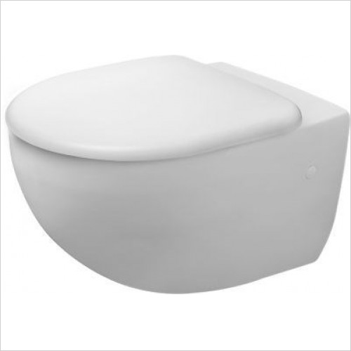 Duravit - Toilets - Architec Toilet Wall-Mounted 570mm Washdown
