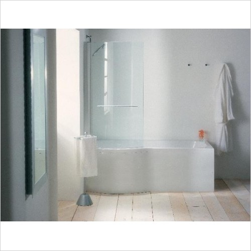 Adamsez Optional Extras - Mezza Curved Shower Screen LH 768x1402mm