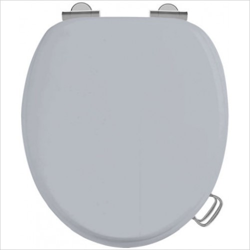 Burlington Toilet Seats - Solid Wooden Seat With Soft Close Hinge