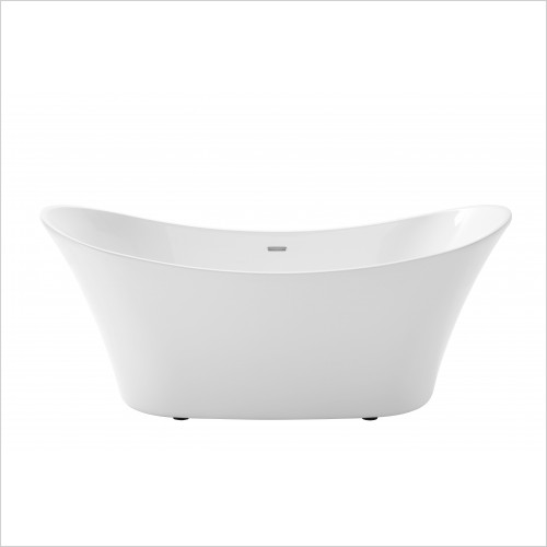 Heritage Bathtubs - Penhallam Freestanding Acrylic Double End Bath 1700 x 720mm