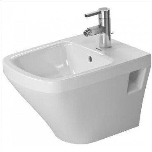 Duravit - Toilets - DuraStyle Bidet Wall Mounted 480mm Compact 1 Tap Hole