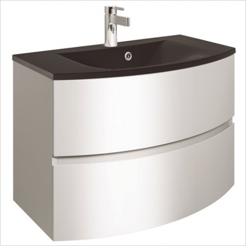 Crosswater Bathroom Furniture - Svelte 800mm Vanity Unit