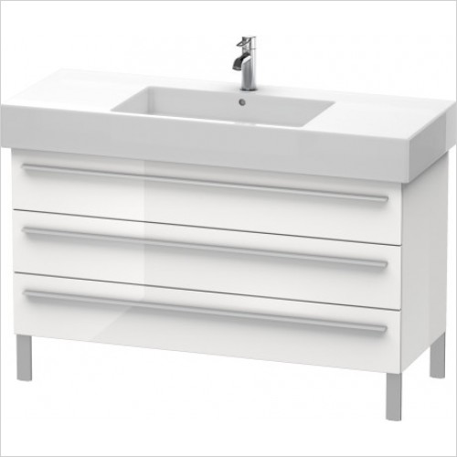 Duravit Furniture - X-Large Vanity Unit 588x1200x470mm 3 Drawers