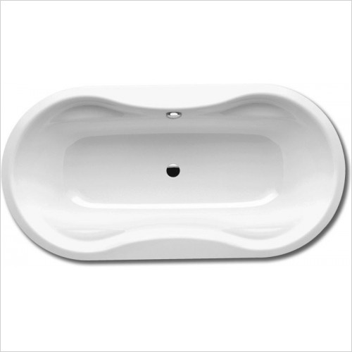 Kaldewei Baths - 184-7 Avantgarde Mega Duo Oval 180x90x45cm 0TH