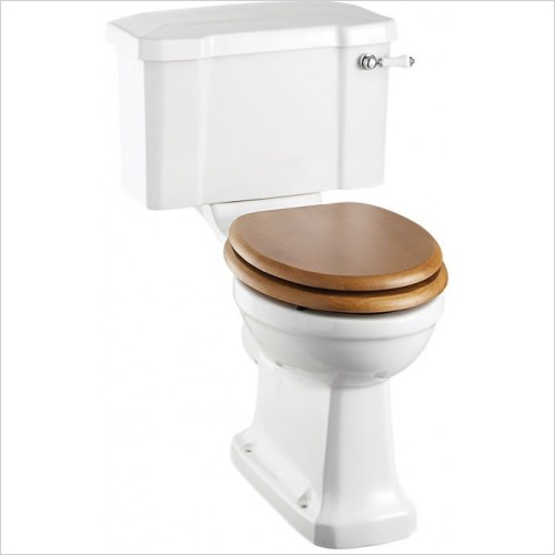 Burlington Optional Accessories - Close Coupled Cistern 51cm With Lever