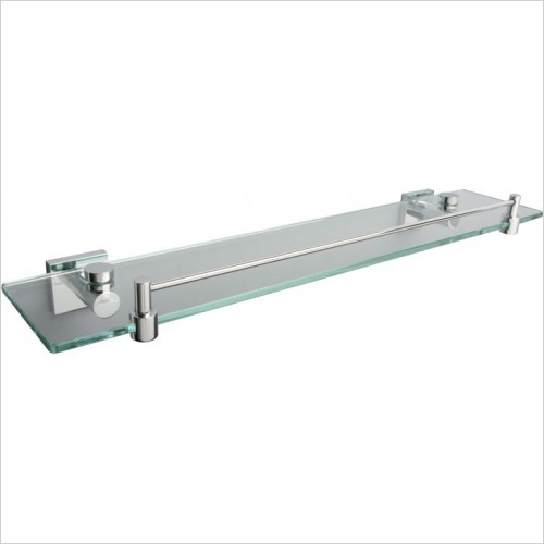 Miller Accessories - Atlanta Shelf With Guard Rail