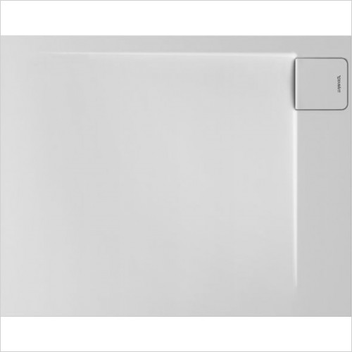 Duravit Showers - P3 Comforts Shower Tray 1000x800mm Rectangle Corner Right