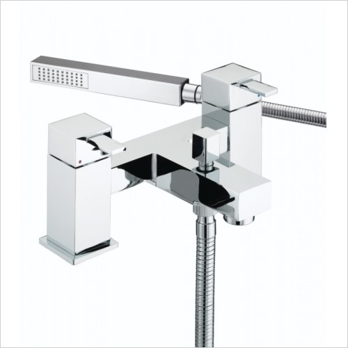 Bristan Showers - Quadrato Pillar Bath Shower Mixer
