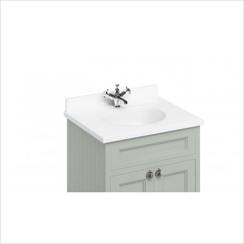 Burlington Basins - Minerva 670 Top With Vanity Bowl