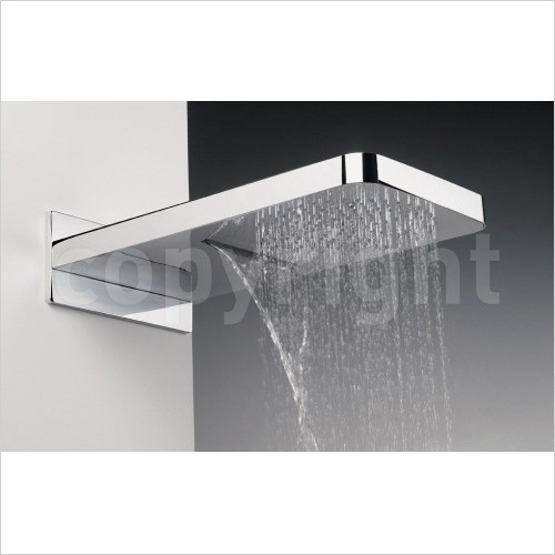 Crosswater Showers - Revive Fixed Shower Head With Waterfall